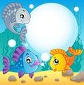 Fish theme image 2 Royalty Free Stock Photo