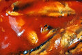 Fish in tomato sauce Stock Photos