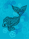 Fish Vector Illustration Royalty Free Stock Photos