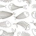 Fishbone set pattern