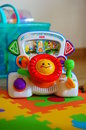 Fisher price toy car immitation Stock Photography