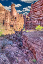 Fisher Towers Royalty Free Stock Photo