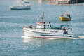 Fisheries research vessel Royalty Free Stock Photo