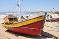 Fisherman boat Royalty Free Stock Photo
