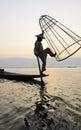 Fisherman on Inle Lake, Shane, Myanmar