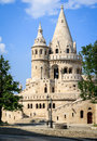 Fisherman s bastion interesting architecture of the in budapest hungary Stock Photos