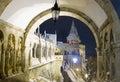 Fisherman's Bastion at night, Budapest Royalty Free Stock Photo