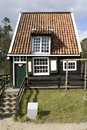 Fisherman s cottage from marken in dutch open air museum in arnhem netherlands Stock Images