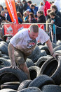 Fisherman's Friend Strongman run 2012 Royalty Free Stock Image