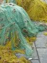 Fisherman's Nets Royalty Free Stock Photos