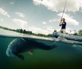 Royalty Free Stock Images Fisherman