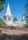 Fishermans bastion budapest hungary idyllic place at Royalty Free Stock Images
