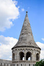 The Fishermans Bastion in Budapest, Royalty Free Stock Photo
