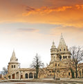 Fishermens bastion in the castle hill budapest hungary Stock Photos