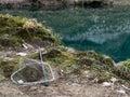 Fishing background. Royalty Free Stock Photo