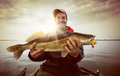 Fishing background Royalty Free Stock Photo