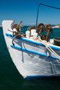 Fishing Boat Bow Stock Photography