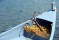 Fishing boat detail Royalty Free Stock Photo