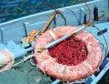 Fishing boat detail Royalty Free Stock Photo