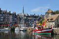 Fishing boat Honfleur Royalty Free Stock Photography