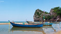 Fishing boat travel Island Royalty Free Stock Image