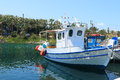 White fishing boat Royalty Free Stock Photo