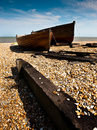Fishing boats, Deal, Kent Stock Images
