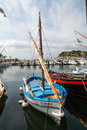 Fishing Boats in France Royalty Free Stock Photo