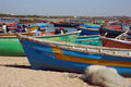 Fishing Boats in Gujarat Royalty Free Stock Images