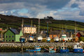 Fishing boats in the harbour.Dingle. Ireland