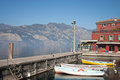 Fishing boats in Malcesine, lake of Garda Stock Photography