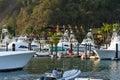 Fishing Boats in the Marina Royalty Free Stock Photo