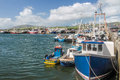 Fishing boats in the port of dingle county kerry ireland Stock Photography