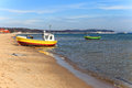 Fishing boats in Sopot Stock Photography