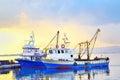 Fishing boats Royalty Free Stock Photo