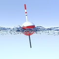 Fishing bobber Royalty Free Stock Photo