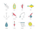 Fishing Equipment Royalty Free Stock Photo