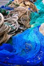 Fishing equipment, fish net Stock Photo