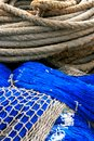 Fishing equipment, fish net Royalty Free Stock Photo