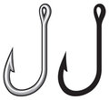 Fishing hook Stock Images