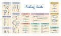Fishing Knots Royalty Free Stock Photo