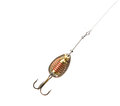 Fishing lure on fishing line Royalty Free Stock Image