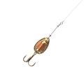 Fishing lure on fishing line Royalty Free Stock Image