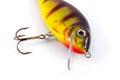 Fishing lure isolated on white background Stock Images