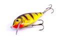 Fishing lure isolated on white background Stock Photo