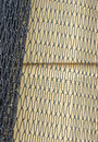 Fishing net closeup a close view of a hung on a wall Royalty Free Stock Photos