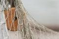 Fishing net. Royalty Free Stock Photo