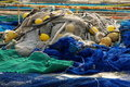 Fishing nets Royalty Free Stock Photo