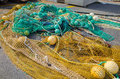 Fishing nets at Saint Jean De Luz, Basque Country Royalty Free Stock Photo