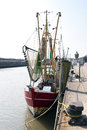 Fishing port cuxhaven in germany Stock Photos
